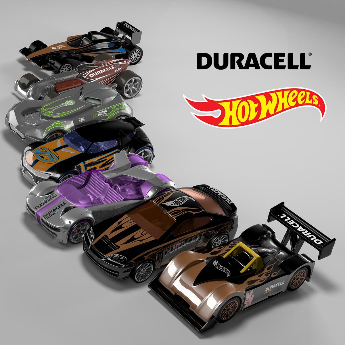 Duracell Hotwheels